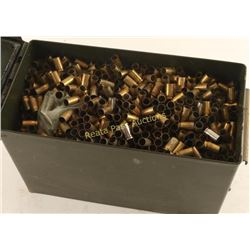 Ammo Can Full of 9mm Brass