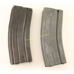 Lot of 2 AR-15 mags