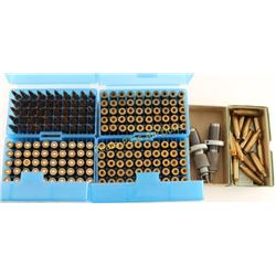 243 Ammo & Brass Lot