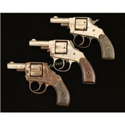 Lot of 3 Antique Revolvers