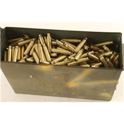 Ammo Can Full of .223 Rem Brass