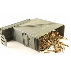 Large Ammo Can Full of .223 Rem Brass