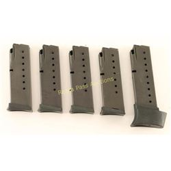 Lot of 5 Sig Sauer Mags
