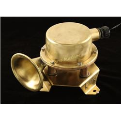 US Navy Shipboard Resonator Horn