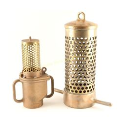 Lot of 2 Fire Hose Suction Strainers
