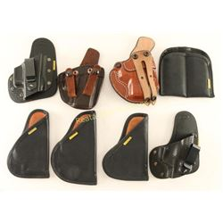 Lot of 8 Holsters