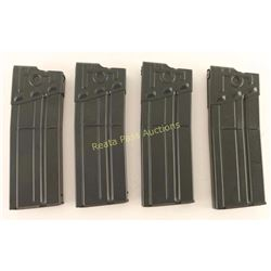 Lot of 4 HK-91 G3 .308 Mags