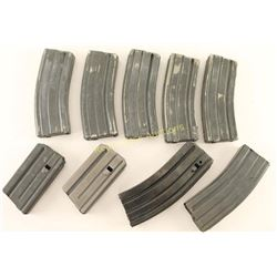 Lot of 9 AR-15 Mags