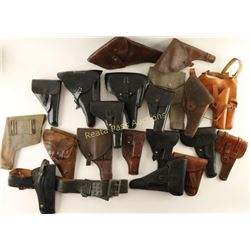 Large Lot of Military Holsters