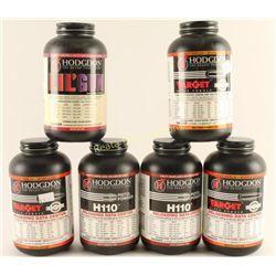 6lbs of Hodgdon Smokeless Powder