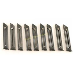 Lot of 9 Ruger Mark III Magazines