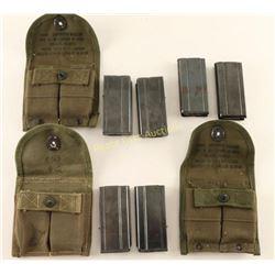 Lot of 6 M1 Carbine Magazines