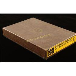 Colt Government Model Wood Grain Box