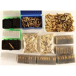 Lot of .220 Russian & 6 PPC Ammo & Brass