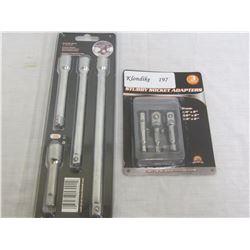 3/8 Socket & Extension Bar set