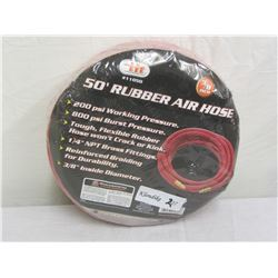 50 Foot Rubber Air Hose