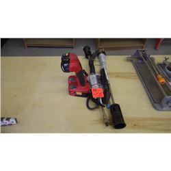 2 unused Mr. Heater tiger torches / 2 craftsman 19.2 volt flashlights