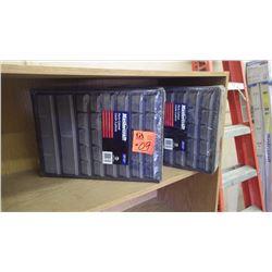 2 unused Master Craft 33 dr. parts cabinet