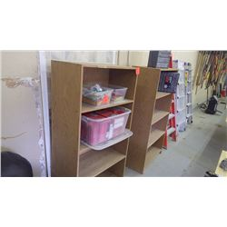 3 - 4 shelf stands