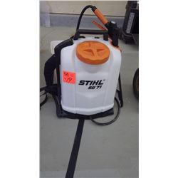 1 Stihl SG 71 back pack sprayer with killex and fertilizer