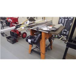 "10"" riggid cast iron table saw model TS3650"