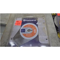 Unused Husgvarna diamond blade EH8 block / brick / cement