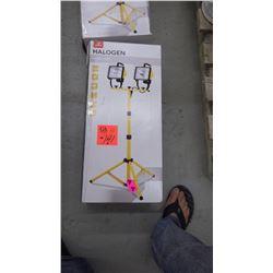 New unused in box 1000 watt halogen work light on tripod