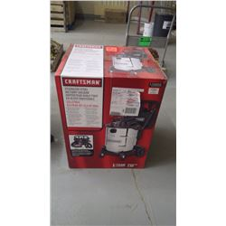 Craftsman new in box - SS wet/dry vacuum