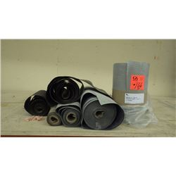 "Approx 200' of 12"" rubber butyl"