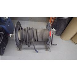 Approx 25' washer hose with H.D. reel