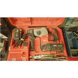 Milwaukee lithium rotary hammer