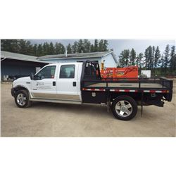 NO PST...2007 Ford F350XL Super Duty Crew Cab 4 x 4 6.0L Turbo Diesel automatic with 266,274 KMS Vin