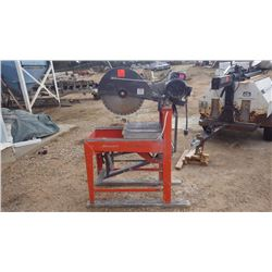 "Husqvarna gaurdmatic MS 510 20"" block cutter wet and dry"