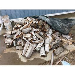 Approx Half cord of birch fire wood