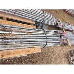 Bundle of Twenty five 8' scaffold braces