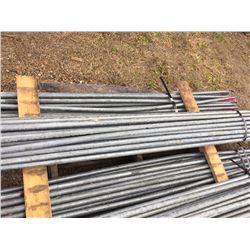 Bundle of Twenty Five Scaffold Guard Rails