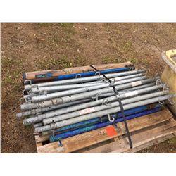 Twenty Three Scaffold guard rail posts