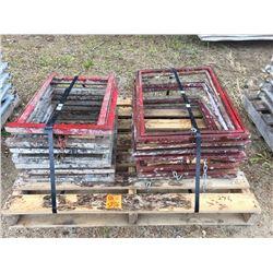 Sixteen Mortar board stands