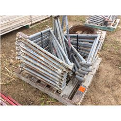 Pallet of Twenty scaffold outriggers