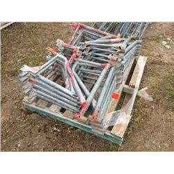 Pallet of Twenty Three scaffold out riggers
