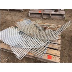 Assorted Galvanized Grates