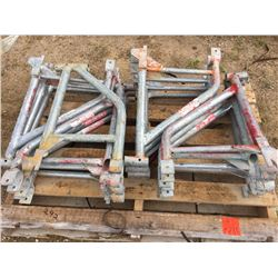 Fourteen scaffold outriggers