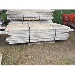Bundle of 40 Eight Foot planks