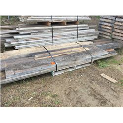 4 pallets of misc planks