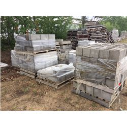 "Approx 20 pallets of Misc 8"" & 6"" blocks"