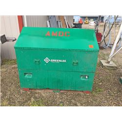Heavey duty Green lee job site box