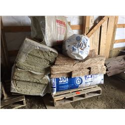 Pallet of approx 6 bundles or R20 and R40 Insulation