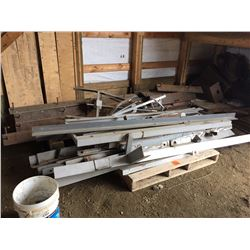 Pallet of assorted Heavey gauge angle iron