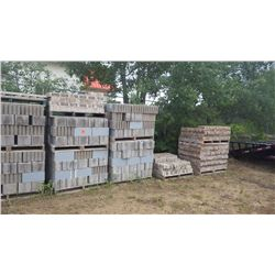 Eleven pallet of assorted blocks and bricks