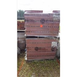 Four pallets new brick all same design